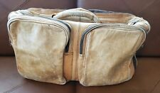 Vintage Tumi Leather Expandable Duffle Bag - Luggage - Travel - Carry On