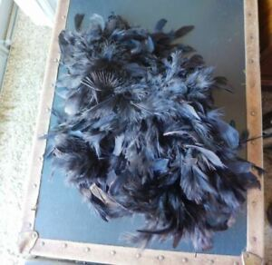 """New Princess Marabou Feather Boa Dress Up Girls Childrens Crafts 78"""" Red & Black"""