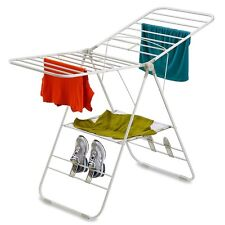 Folding Clothes Drying Rack Small Baby Best Standing Heavy Duty Indoor Metal