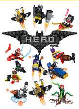 New 12 sets Storm Heros Batman Harley quinn Minifigures Building Toys Fits Lego