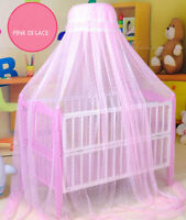 Baby Toddler Bed Dome Cots Mosquito Netting Hanging Dome Bed Mosquito Net
