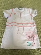 Oilily pink cotton stretchy fabric dress, 24 months, 86, EUC!