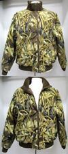 Mens Spartan Outdoors Reversible Camouflage / Dark Brown Jacket  Size XL