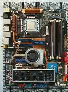 Asus P5Q3 Deluxe/WiFi AP @n P45 Intel Core 2 Quad Q6600 2GB DDR3 1333MHz