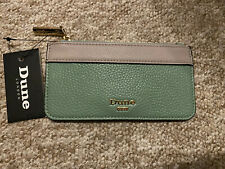 Dune London Teal And Beige Cardholder/purse