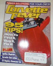 Corvette Fever Magazine 95 Tips & Ignition Magician April 2000 022715r