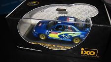 IXO 1.43 SUBARU IMPREZA  WRC #1 WINNER WALES RALLY GB 2004 SOLBERG  RAM156 ** L1