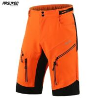 Men Cycling Shorts Loose Fit Mountain Bike Bicycle Riding Short Pants Waterproof