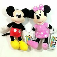 Baby Kid Child Nursery Room Crib Disney Mickey Minnie Mouse Soft Plush Toy Doll