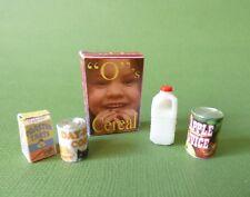 Dollhouse Miniature Breakfast Set
