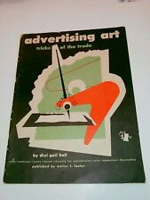 Vintage Advertising Art tricks of the Trade Dixi Gail Hall Pub. by Walter Foster