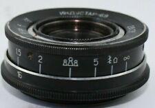 US Seller INDUSTAR 69 Vintage LEICA m39 28mm f/2.8 Pancake Lens Nice Soviet USSR