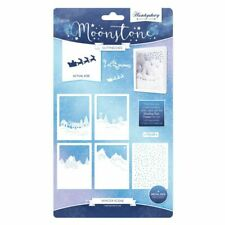 Hunkydory - Moonstone WINTER SCENE Craft Cutting Die Set - MSTONE138