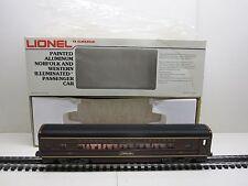 LIONEL 6-9565 NORFOLK AND WESTERN PAINTED ALUMINUM PASSENGER COACH ORIGINAL BOX