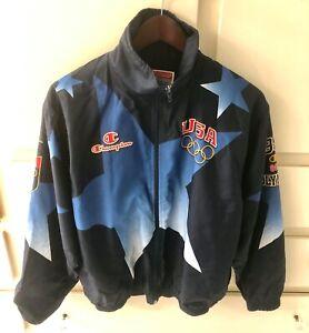 Champion 1996 Atlanta Olympics US Team Men's Warm Up Jacket