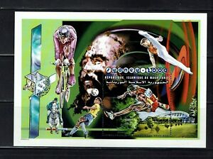 Briefmarken Olympische Spiele 2000 Mauretanien postfrisch