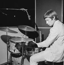OLD MUSIC PHOTO Drummer Charlie Watts Of The Rolling Stones At Bbc Radio