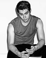 Dylan O'Brien 8x10 photo Tv Movie Actor Teen Wolf The First Time B/W picture V