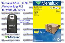 Menalux 1204P T47B Paper Vacuum Bags Pk5 - Volta 200 2000 Series - IN STOCK