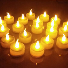 Flickering LED Tealight Tea Candle Battery Light Wedding Safety Decoration