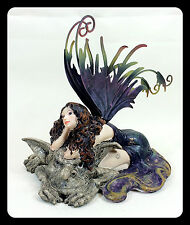 Fairy with Troll Resin Figurine Collectible Fantasy figurine