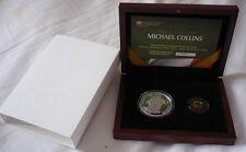 2012 Irlande Michael Collins double or et argent deux coin proof set (RARE)