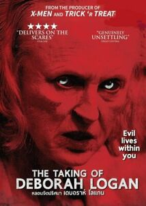 The Taking of Deborah Logan (2014) DVD R0 PAL  Jill Larson, Cult Horror Mystery