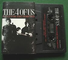 The 4 Of Us Song For The Tempted inc Fool For Temptation + Cassette Tape TESTED