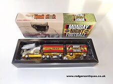 White Rose Collectibles ABC Monday Night Football TRUCK & DOUBLE TRAILER - MIB