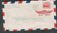 1951 cover Santa Monica CA to Betty Zane Pop Corn popcorn Co Marion OH