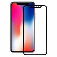 Apple iPhone X 3D Panzer Schutz Glas Folie Schutzfolie Echtglas Case Schwarz