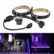 2 in 1 PC Case Magnetic Strip Light Color Changing with PC RGB Strip Kit SATA