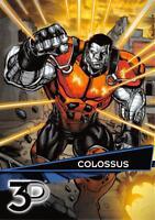 COLOSSUS / Marvel 3D (Upper Deck 2015) BASE Trading Card #65
