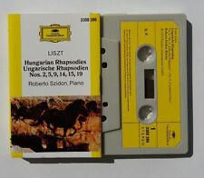 Musicassetta Liszt HUNGARIAN Roberto Szidon Piano Mc Musik Cassette Tape No CD