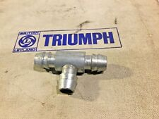 NOS Breather Hose Metal T Piece 154211. Triumph TR6, TR7, TR8 ——