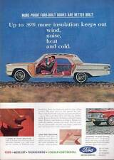 1963 Ford Galaxie & Interior Cutaway PRINT AD