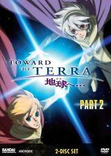 Toward the Terra, Part 2 (2008, 2-Discs) Anime DVD Box Set! Brand New, Free Ship