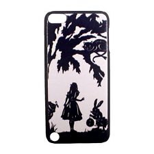 Alice in Wonderland Cheshire Cat Rabbit Hard Case Cover for iPod Touch 5 5th gen