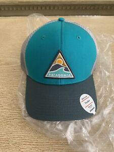 Patagonia Rollin Thru Mid Crown Trucker Hat Cap NWT Super Rare