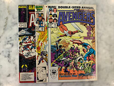 the avengers Annual 14 1985, 15 1986, 16 1987 Double Giant Sized