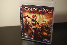 Golden Axe: Beast Rider (Sony PlayStation 3, 2008) *Tested / Complete
