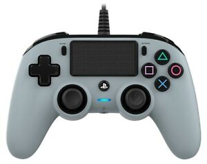Nacon Controller Wired Grey PS4 PLAYSTATION 4 PS4OFCPADGREY Nacon