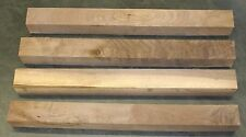 """Four 3 X 3 (nom.) X 31"""" Walnut Blanks for Turning or Tapering Table Legs. 2nds"""