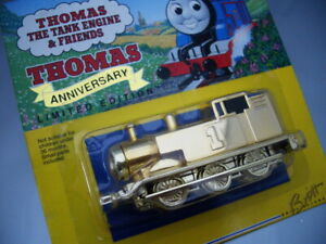 """1/64 Ertl THOMAS """"GOLD PLATED"""" 60th ANNIVERSARY LIMITED EDITION"""