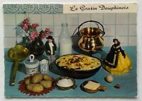Le Gratin Dauphinois Recette Potato Recipe Postcard (P343)