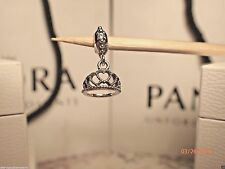 AUTHENTIC PANDORA CHARM HEARTS TIARA 791738CZ