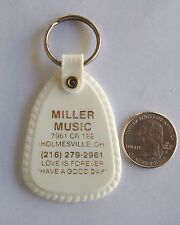 Advertising  Keychain -FOB Miller Music Holmesville OH.