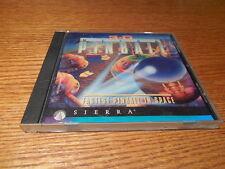 3D Ultra Pinball Fastest Pinball In Space 1995 Sierra PC CD ROM Game