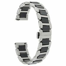 TRUMiRR 22mm Ceramic Watch Band Quick Release Strap All Links Removable for Gear