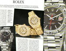 SP97 Clipping-Ritaglio 2004 Rolex Turn O Graph Daytona